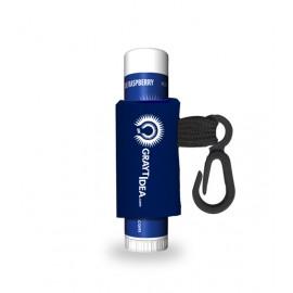 Blue Raspberry Lip Rageous Lip Balm W/ Custom Leash and Label Logo Branded