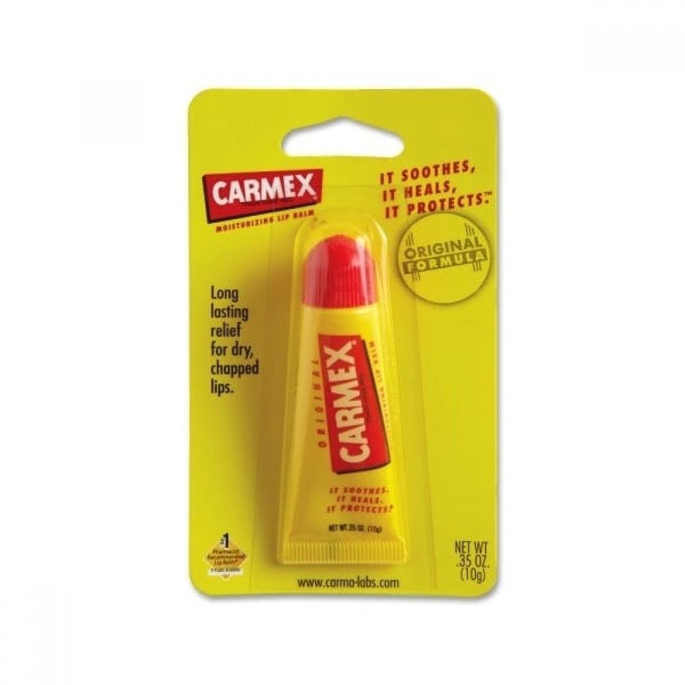 Carmex Lip Balm Tube Original .35 oz. Cherry Custom Imprinted
