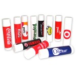 SPF 15 Lip Balm w/Next Day Delivery Service - Passion Fruit Flavor Custom Imprinted