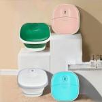 Foot bathtub household convenient electric heating constant temperature massage foot bath bucket foo Custom Imprinted