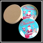 Logo Branded 4 Round Coaster Gift Box Set