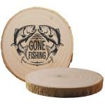 Tree Bark Coaster Custom Imprinted