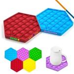 Custom Printed Talent Bubble Fidget Toy
