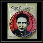 "Logo Branded Single Packaged Absorbent Stone Car Coaster (2.5"" Diameter) - Full Bleed Print"