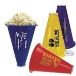 Custom Printed Megaphone & Popcorn Holder