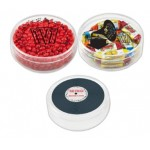 Custom Printed Plastic Music Reel Shape Container