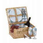 Boothbay 2 Person Picnic Basket Custom Imprinted