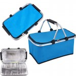 Collapsible Insulated Picnic Basket Custom Imprinted