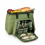 Toluca Insulated Cooler w/Deluxe Picnic Service For 2 Logo Branded