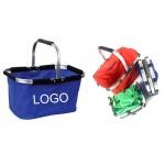 Foldable Shopping/Picnic Basket Logo Branded