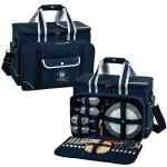 Custom Printed Picnic Set for 4 with Cooler