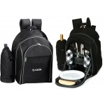 Logo Branded Endeavor Backpack Picnic Set