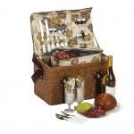 Woodstock 2 - 2 Person Picnic Basket Custom Printed