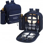 Custom Imprinted Picnic Backpack for 2 with Cooler