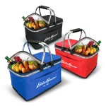 Custom Printed Collapsible Insulated Picnic Basket