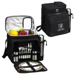 Picnic Set for 2 with Cooler & Coffee Service Logo Branded