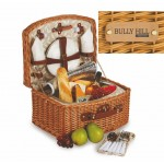 Custom Printed Benton 2 Person Picnic Basket