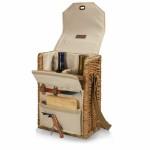 Corsica - Wine Basket w/Cheese Service & Corkscrew Custom Printed