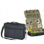 Picnic Bag for Four w/ Adjustable Shoulder Strap (Blank) Custom Imprinted