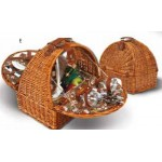 Athertyn 2 Person Willow Picnic Basket Custom Imprinted