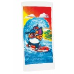 "30"" x 60"", 11 lb., Standard Weight Velour Hemmed Towel (Screen Print) Logo Branded"
