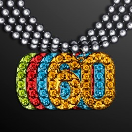 Promotional beaded necklaces,low price party bead necklaces