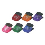 Promotional Jumbo Spring Loaded Magnetic Memo Clip w/Rubber Grip