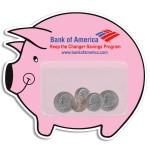 Piggy Bank Pocket Magnet Custom Printed