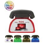 Telephone Shaped Magnetic Memo Clip - Full Color Custom Imprinted
