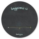 Circle Chalkboard Magnet 11 Diameter Logo Branded