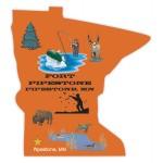 Custom Imprinted Minnesota State Magnet