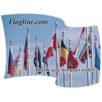Custom Printed Full Color Magnet (4.117 x 5.534) Flag