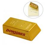 Mini Gold Bar Magnet Logo Branded