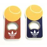 Jumbo Size Tennis Ball Magnetic Bottle Opener Logo Branded