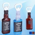 5 5/16'' Bottle Opener w/ Magnetic Logo Branded