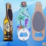 Drift Bottle Shaped Magnetic Bottle Opener Custom Imprinted
