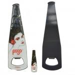 Full Colored Fridge Magnetic Stainless Steel Bottle/ Can/ Sodas Opener Bar Blade Custom Printed