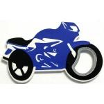 Logo Branded Jumbo Size Motorcycle Shape Magnetic Bottle Opener