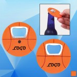 Basketball-Shaped Bottle Opener Custom Printed