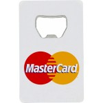 Credit Card Shaped Bottle Opener Custom Imprinted
