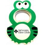Logo Branded Jumbo Size Frog Magnetic Bottle Opener