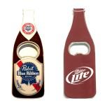 Jumbo Size Beer Bottle Magnetic Bottle Opener Custom Printed