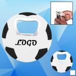 Soccer Shaped Bottle Opener Custom Imprinted