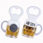 Magnetic Beer Mug Bottle Opener Custom Printed