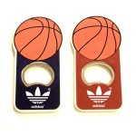 Jumbo Size Basket Ball Magnetic Bottle Opener Logo Branded
