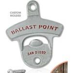 Custom Printed Wall Mounted Bottle Opener - Standard (Matte Silver)