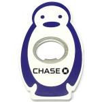 Jumbo Size Penguin Shape Magnetic Bottle Opener Custom Imprinted