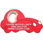 Custom Printed Jumbo Size Car Shape Magnetic Bottle Opener