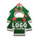 Logo Branded Jumbo size Christmas tree shape magnetic bottle opener