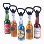 Magnetic Beer Shaped Bottle Opener Custom Imprinted